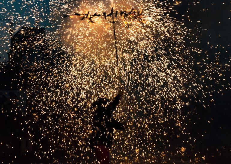 Festa major de Blanes, diable