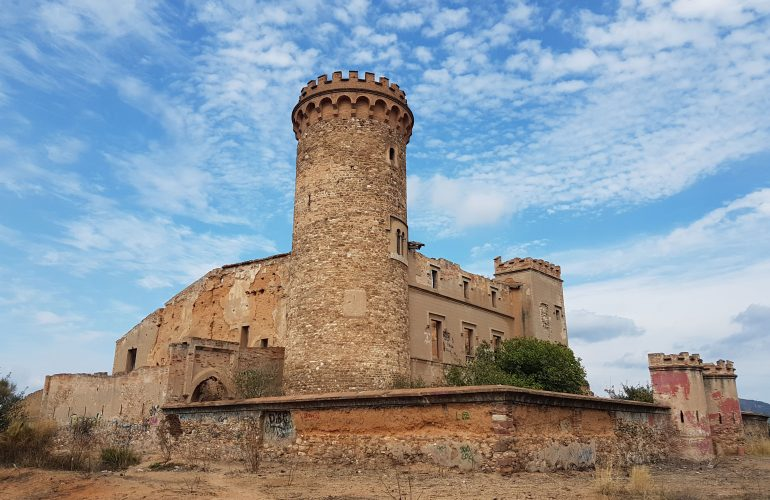 Torre Salvana, el Castell de l'Infern. Fotografia d'Arnau Folch