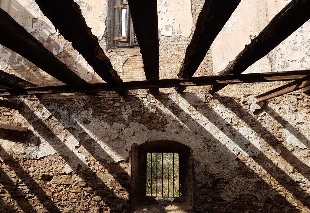 Interior de la Torre Salvana