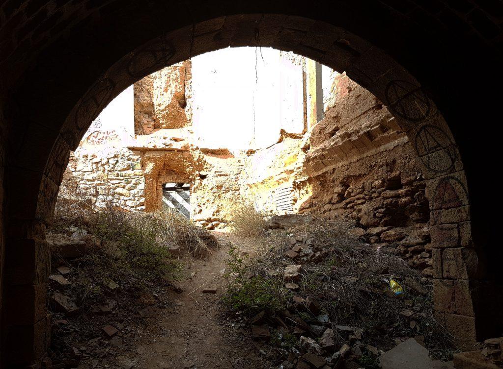 Dins del palauet neogòtic