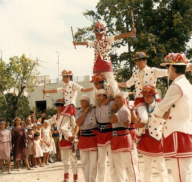 Moixiganga de Sitges. 1986. Arxiu Sebastià Giménez