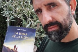 Carles Vilar, autor de La Pedra de la Llum
