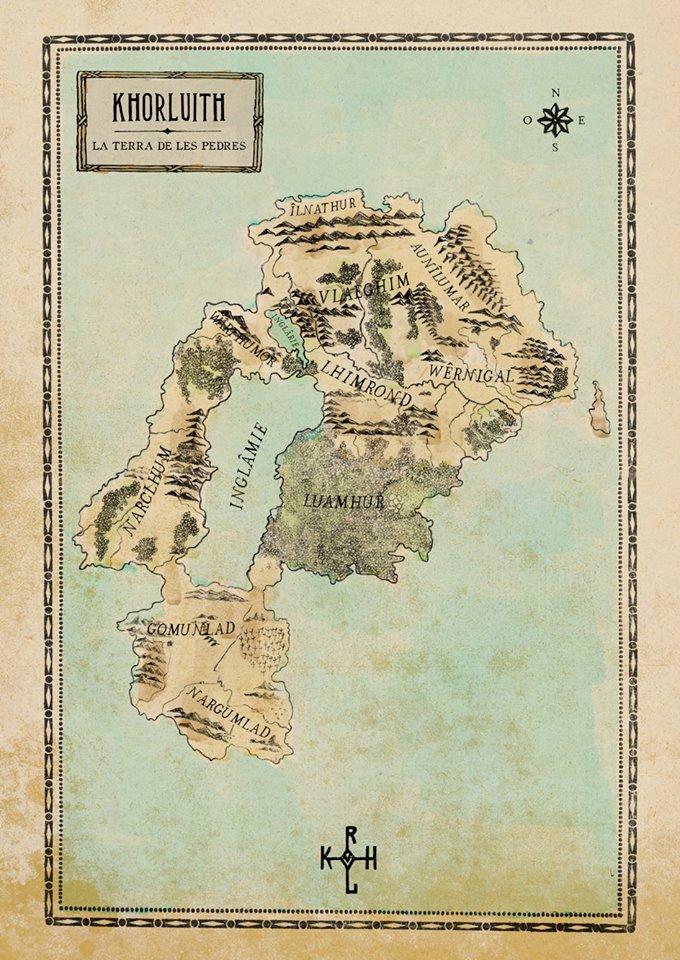 Mapa de La Pedra de la Llum