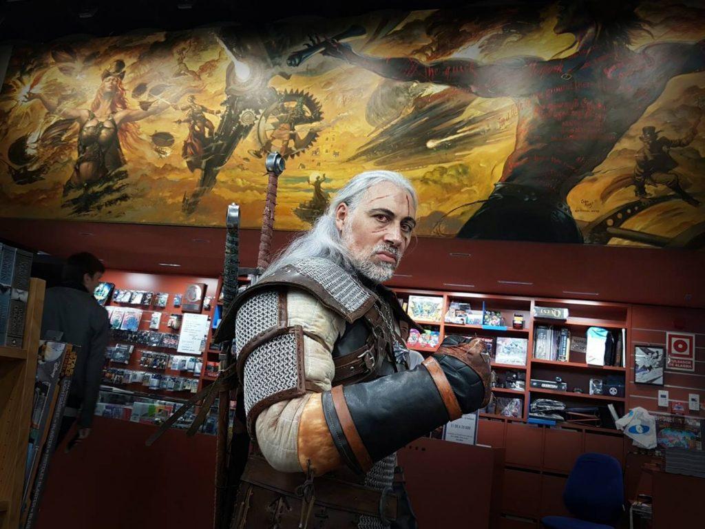 El caçador de monstres Geralt de Rivia, d'Alma Cubrae, a Gigamesh