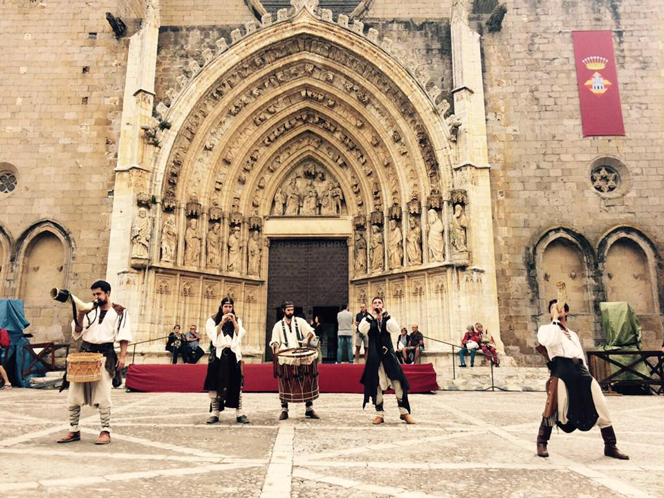 Sübitus, al festival Terra de Trobadors, Castelló d'Empúries