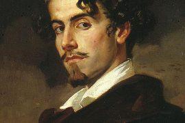 Gustavo Adolfo Bécquer, retrat de l'artista fet pel seu germà Valeriano el 1862, Museu de les Belles Arts de Sevilla