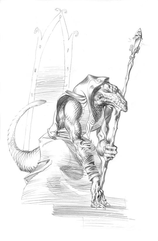 Usumgal, musdàgur. Dibuix de l'Enrique Corominas