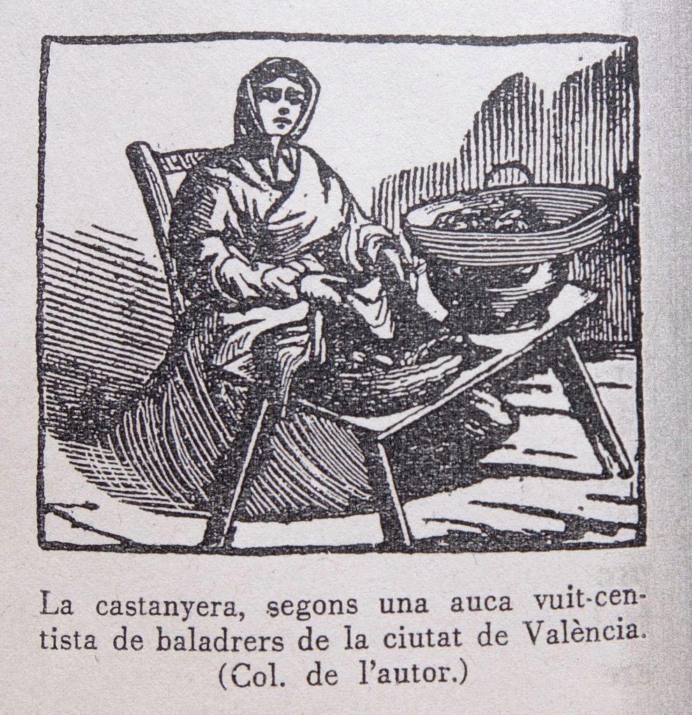Castanyera, auca de baladrers