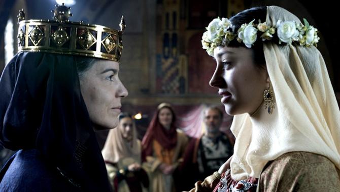 Fotograma de la pel·lícula de TV3, Ermessenda, on apareix Roger de Tosny