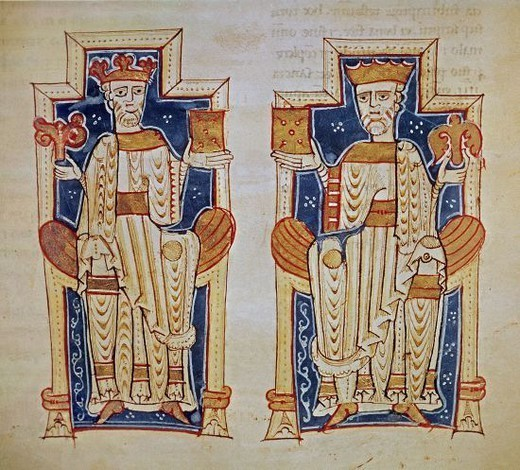 Alfons de Poitiers, Comte de Tolosa, i Ramon Berenguer III. Interpretació del segle XII