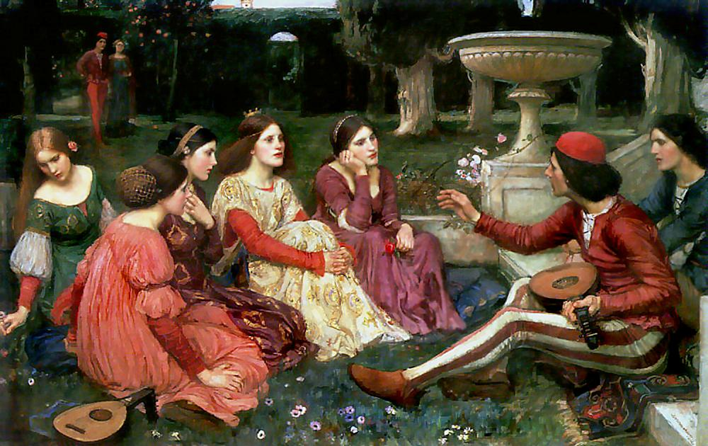 Un conte del Decameró (1916), d'en John William Waterhouse