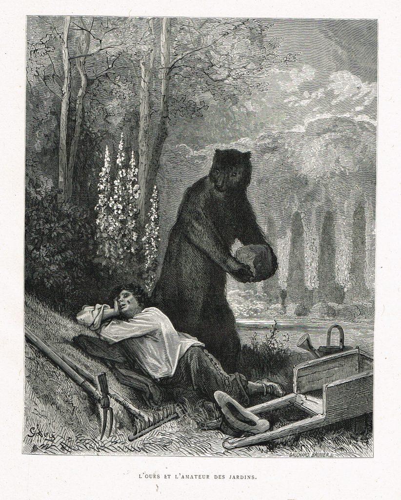 L'Ours et l'Amateur des jardins, de Gustave Doré