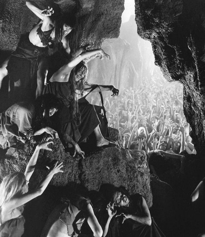 Les bruixes es reuneixen la nit de Walpurgis