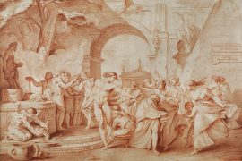 Les Lupercales (1737), d'Edme Bouchardon